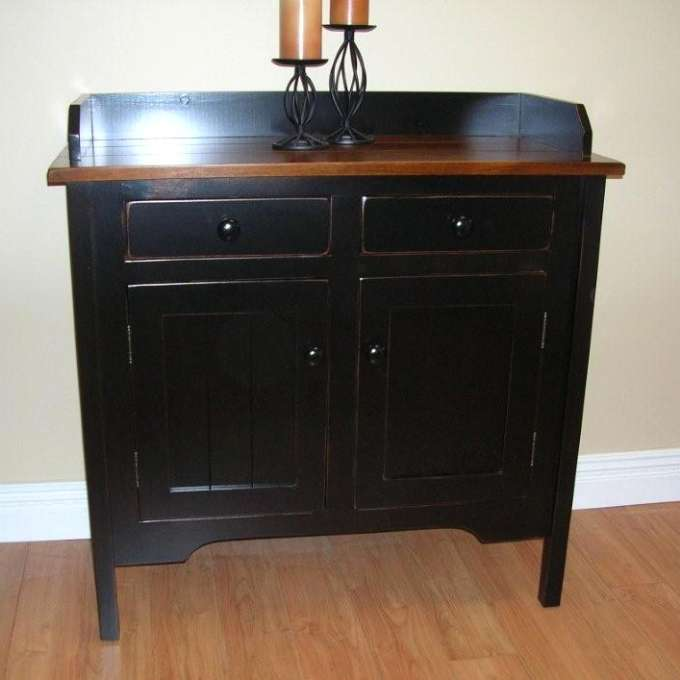 Pine Rustic 2 Door 2 Drawer Sideboard